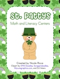 March Math & Literacy Centers