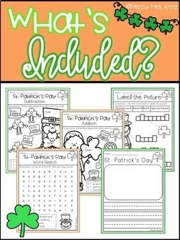 March Math & Literacy FREEBIE
