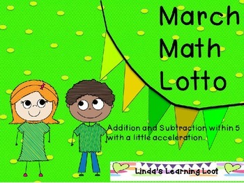 March Math Lotto