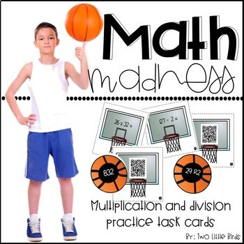 Math Madness-Multiplication and Division Practice