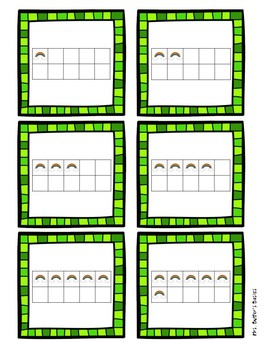 March Math Number Match Game 1-10 - St. Patrick's Day FREEBIE