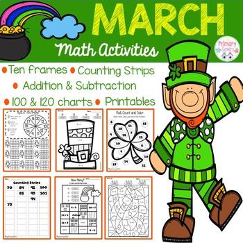 March Math Number Sense Activities