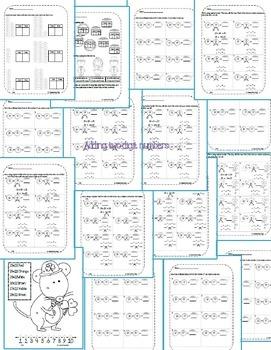 First Grade Math Pack {March}