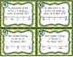 March Math Spiral Review Task Cards