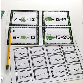 March Math Station- St. Patrick's Theme