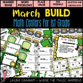 BUILD March Math Centers for First Grade