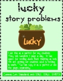 March Math Story Problems