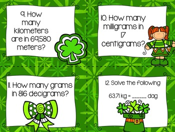 March Math Tasks