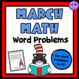 March Math Word Problems