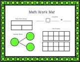 March Math Work Mat