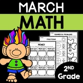 March Math Worksheets for 2nd Grade
