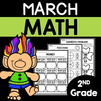 March Math Worksheets for 2nd Grade | March Math | Math Worksheets Second Grade
