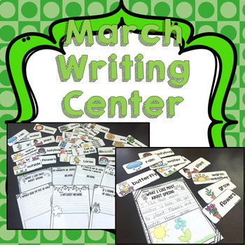 March Math and Literacy Activities