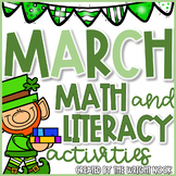 Math and Literacy Activities Bundle for March