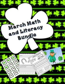 March Math and Literacy Bundle