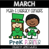 March: Math and Literacy Centers