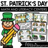March Math and Literacy Centers {kindergarten}