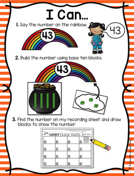 March Math and Literacy Centers - First Grade