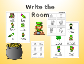 March Math and Literacy Centers/Stations