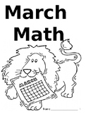March Math (bellwork) Packet