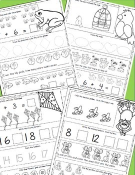 March  Math Worksheets With St. Patrick's Day Math Pages, Daily Math for March