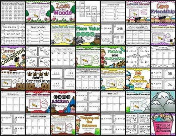 March- May Differentiated Math Centers (Year Full of Math Centers: Vol 3)