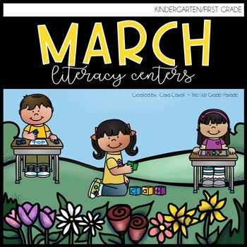 16 Spring Literacy Centers