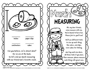 March Measuring: Using Standard and Non-Standard Units