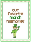 March Memory Writing Prompt