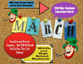 March Middle and High School Rewards and Incentives