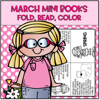 March Mini Books...Just Fold and Read!