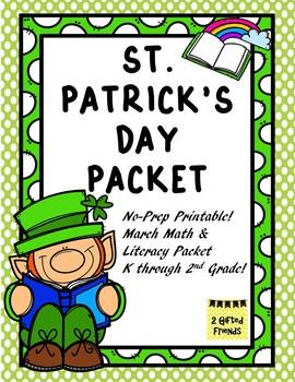 St. Patrick's Day packet- mini unit