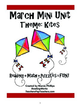 March Mini Unit  Theme: Kites