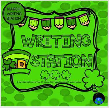 March Mini Writing Station