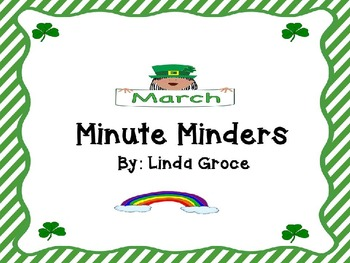 March Minute Minders: Morning Work Activities 1st Grade CCS