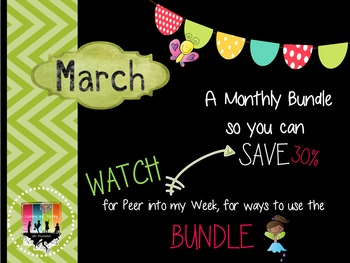 March Monthly Bundle Deal