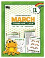 March Monthly Collection, Grade 1