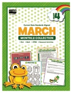 March Monthly Collection, Grade 4