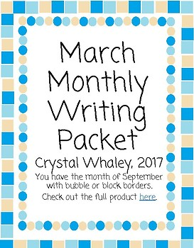 March Monthly Packet