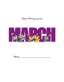 March Monthly Writing Journal