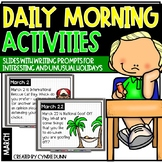 March Morning Activities