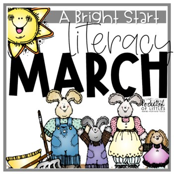 March Morning Bright {Kindergarten Literacy Morning Work}