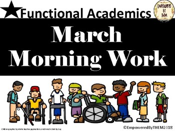 March Morning Folder - Functional Academics
