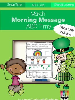 March Morning Message ABC Time