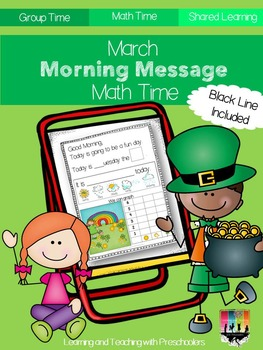 March Morning Message Math Time