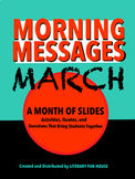 March - Morning Messages