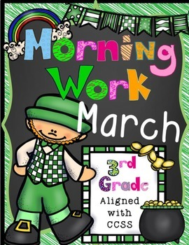 March Morning Work-CCSS Aligned
