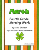 March Morning Work Fourth Grade Common Core Standards