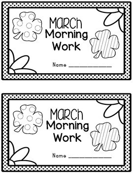March Morning Work Quick Warm Ups