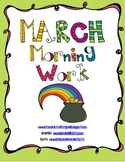 March Morning Work (St. Patrick's Day Themed)